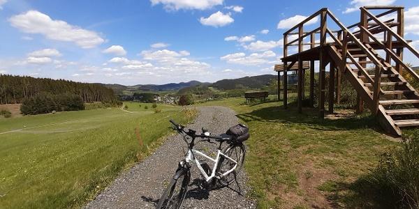 Aussichtsplattform am Hainbach