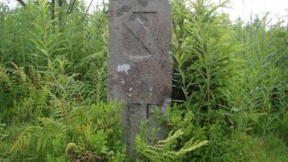 Grenzstein bei Kniebis