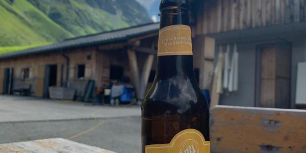 Pause bei der Alpe Nova