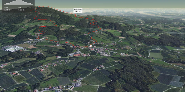Wanderung in der Oststeiermark: Rosenkogel- Kulmweg