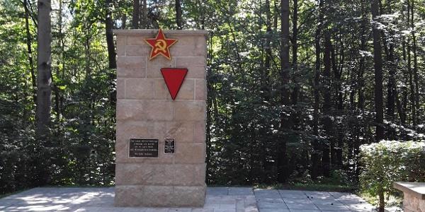 Gedenkstätte für sowjetische Kriegsopfer aus dem 2. Weltkrieg