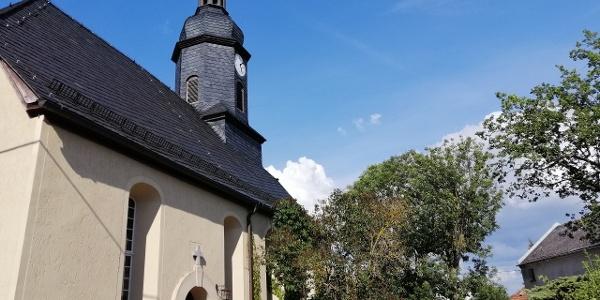 Pfarrkirche in Krebes bei Weischlitz