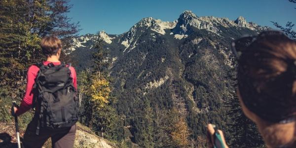 Wandern Bettlersteig Kaistertal Naturerlebnis Kaisergebirge