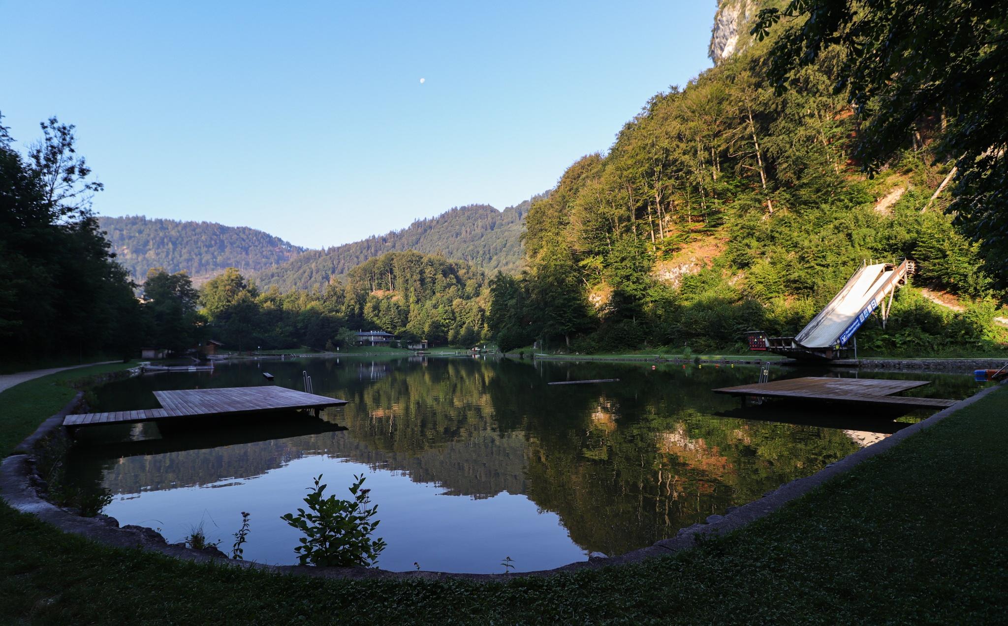 Luegsteinsee am Morgen