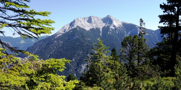 Guffert-Blick im Aufstieg