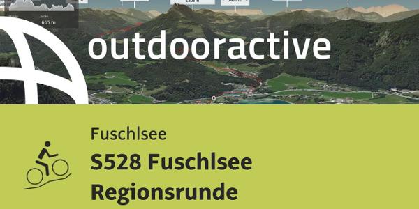 Mountainbike-tour in der Fuschlseeregion: S528 Fuschlsee Regionsrunde