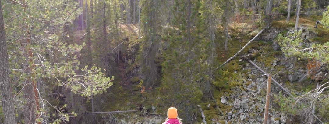 Vorlokki gorge, Hyrynsalmi Finland