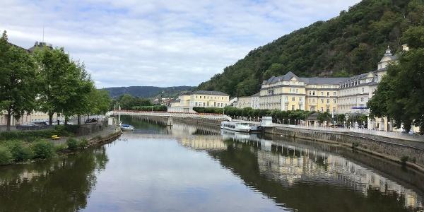 Schleifenroute - Bad Ems Uferpromenade