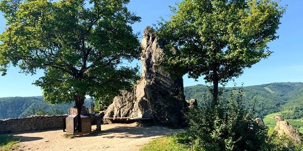 Vorburg der Ruine Dürnstein