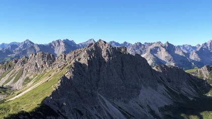 Blick von der Schochenspitze