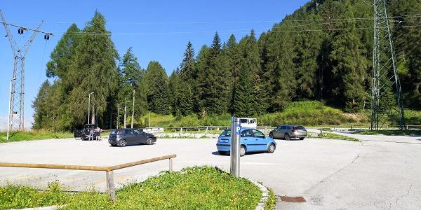 01 Parcheggio a pagamento presso il Passo Cibiana