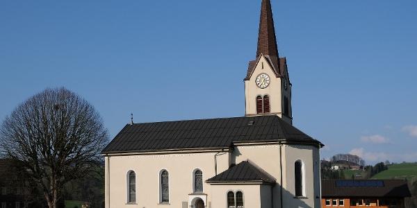Alberschwende, Expositurkirche Heiliges Herz Jesu Mariä 2