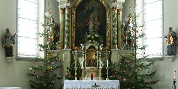 Au, Kuratiekirche Heiliger Josef 1