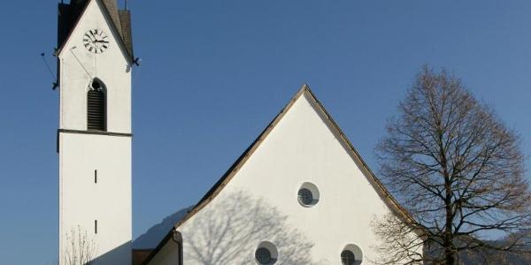 Bizau, Katholische Pfarrkirche Heiliger Valentin