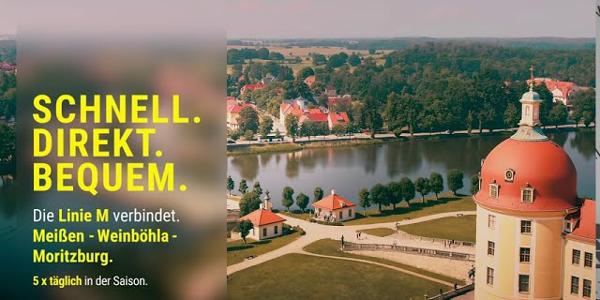 Buslinie M - bequem die Region #DresdenElbland entdecken!