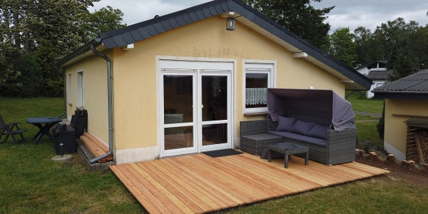 Terrasse Außenbereich Haus Sonne