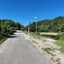 Startplatz der Camping Harfenmühle, los in Uhrzeigerrichtung