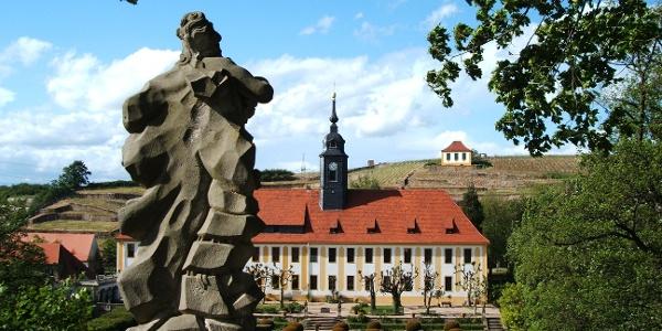 Schloss Seußlitz mit Luisenburg