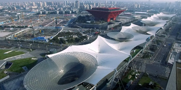 上海世博源俯瞰图