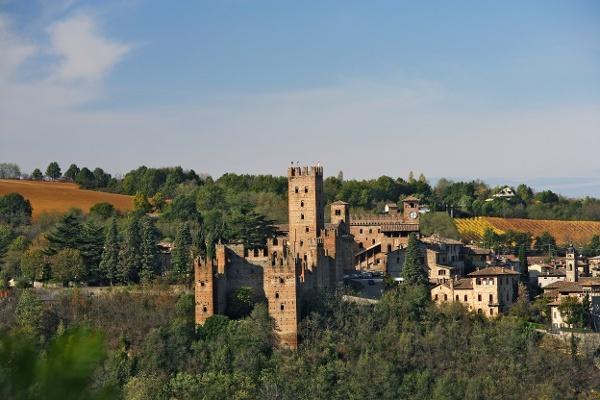 Village idyll in Emilia-Romagna