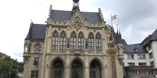 Schleifenroute - Erfurt Rathaus