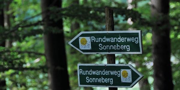 Rundwanderweg Sonneberg | Wegweiser