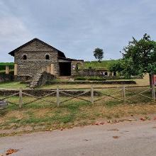 Die gut restaurierten Ruine der Villa Urbana