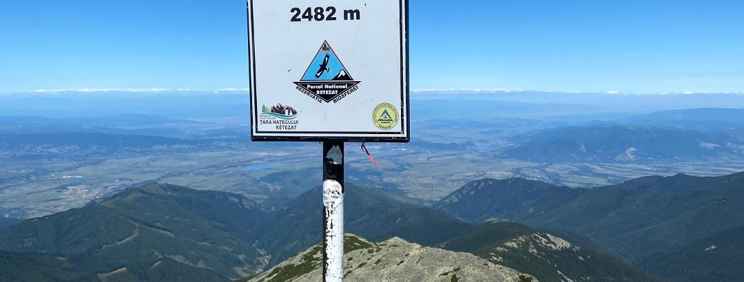 Vârful Retezat, 2482m