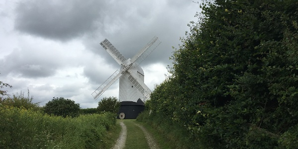 On the way to the Jack and Jill windmills