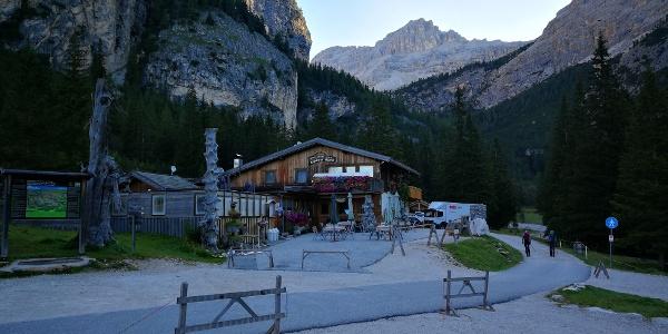 Ausgangspunkt Capanna Alpina