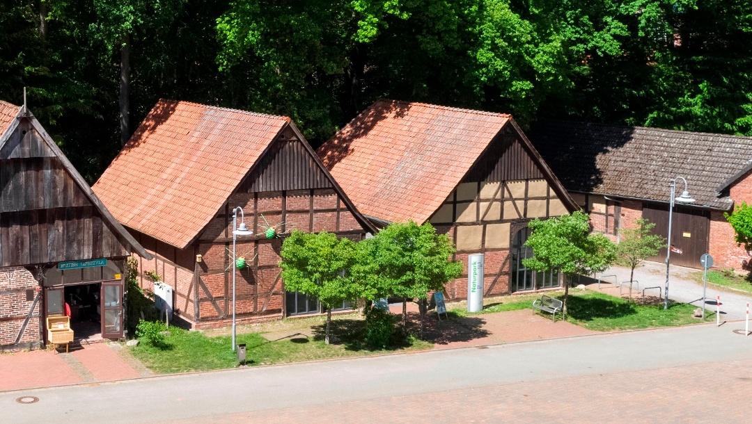 Naturpark Infozentrum Steinhude Luftbild