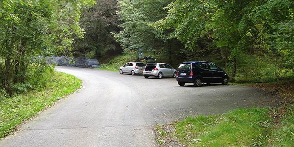 Wanderparkplatz Luchternbermecke in Bödefeld