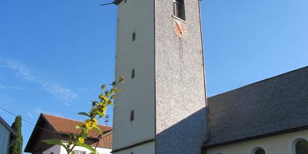 Kräutergarten an der Jungholzer Kirche