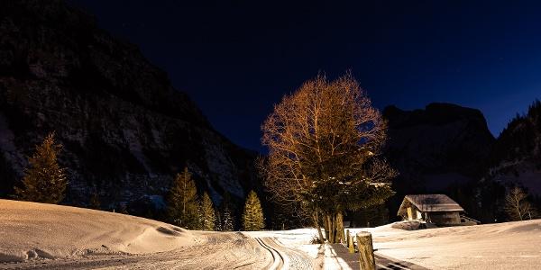 Nachtloipe Kandersteg