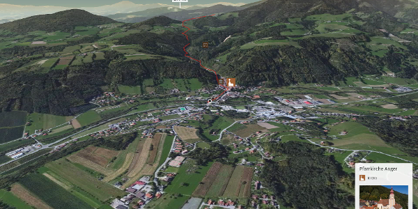 Wanderung in der Oststeiermark: Wanderung zum Wittgruberhof