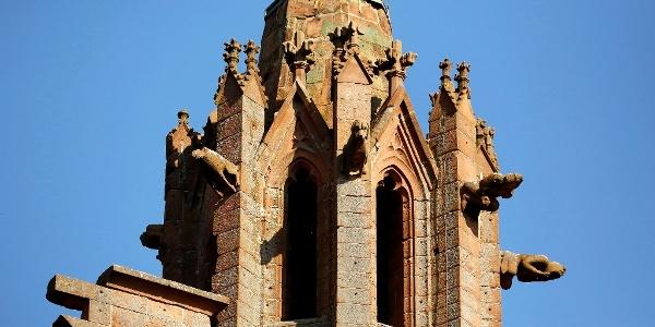 Klosterruine Limburg Turm
