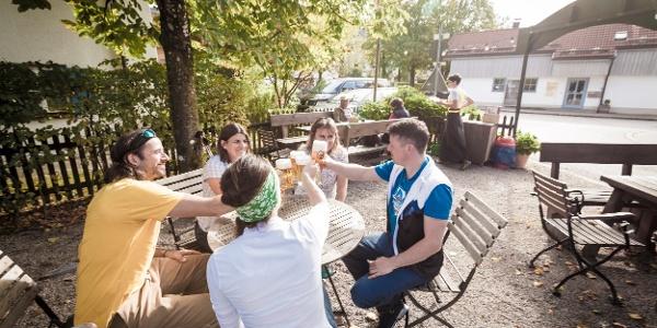 Biergarten Dorfschänke