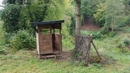 Jägerhütte ... abseits des Weges