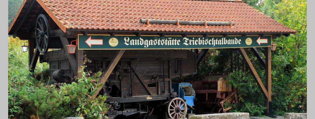 Buswendeplatz unterhalb der Triebischtalbaude