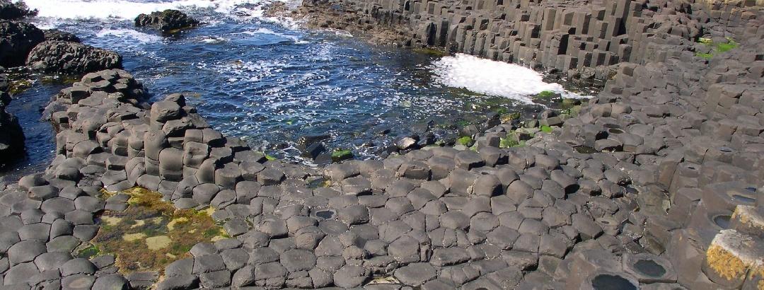 Giant's Causeway, Co. Antrim, Northern Ireland.
