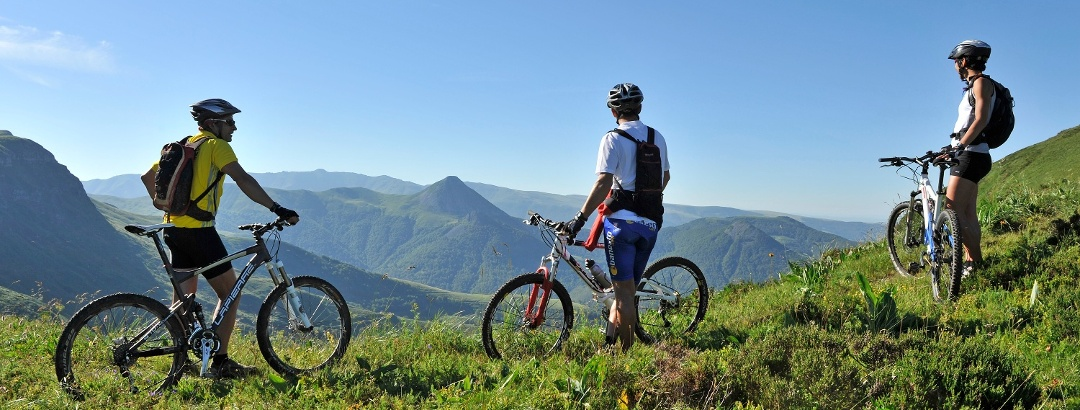 VTT en Auvergne-Rhône-Alpes