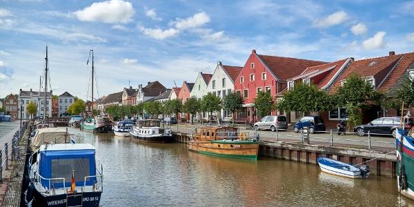 Historischer Hafen Weener, Foto: Achim Meurer