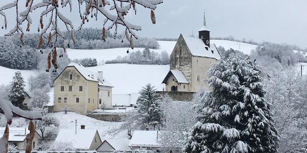 Winterliches Bad Schönau
