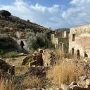 Ruinen eines Jesuitenklosters von Kalamitsia