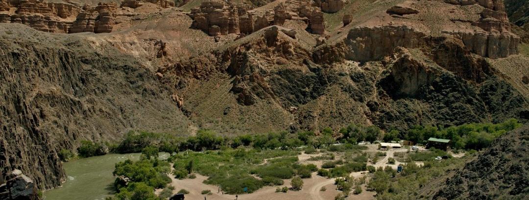 Чарынский каньон - база для отдыха
