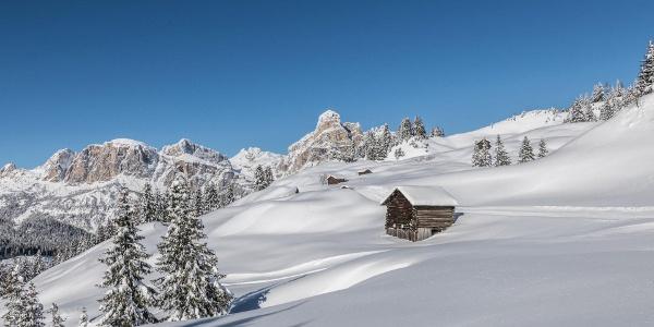 Abstieg von der La Marmotta Hütte