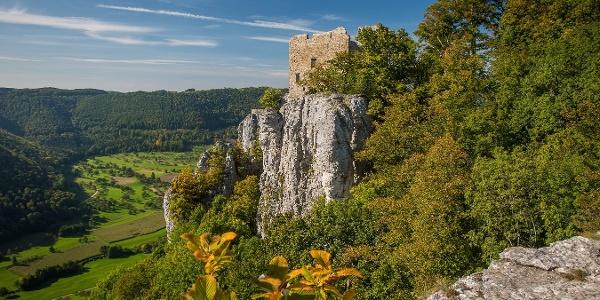 Burgruine auf der Schwäbischen Alb