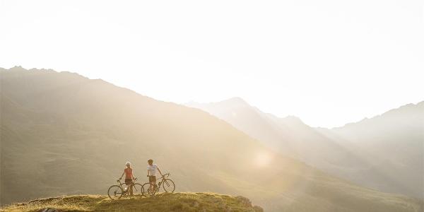 Radfahren Dorf Tirol