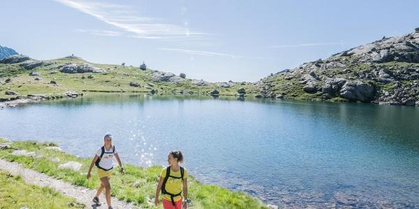 Camminare al lago Langsee - Laghi di Sopranes