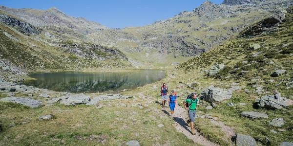 Hiking tour to the Oberkaser hut